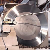 Токарная обработка деталей большого диаметра